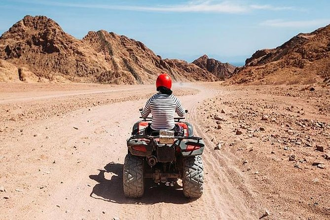 Sharm El-Sheikh : Quad Bike & Desert Safari Adventure with Transfers photo 4