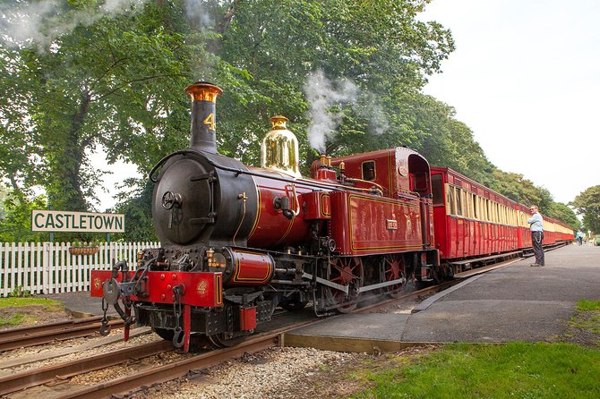 Photograph the Isle of Man's Victorian Railway Networks - Full Day