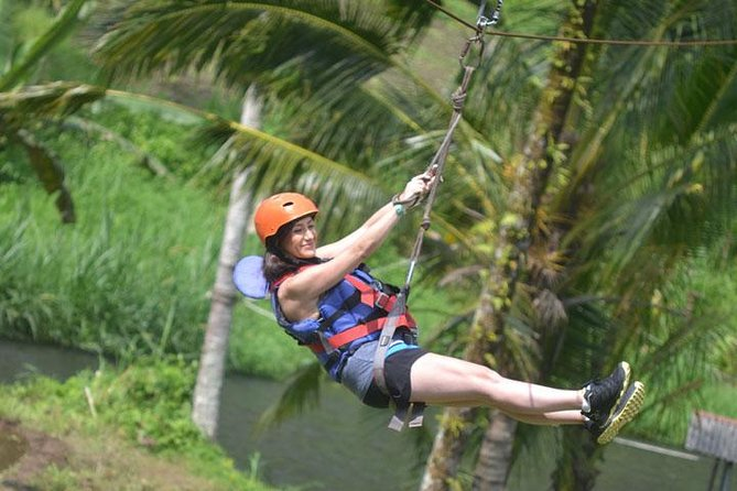 White Water Rafting and Flying Fox (Zip Line) Down to the River
