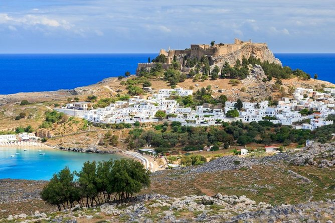 BEST of RHODES & LINDOS - HALF DAY GUIDED PRIVATE GROUP TOUR - up to 19 people
