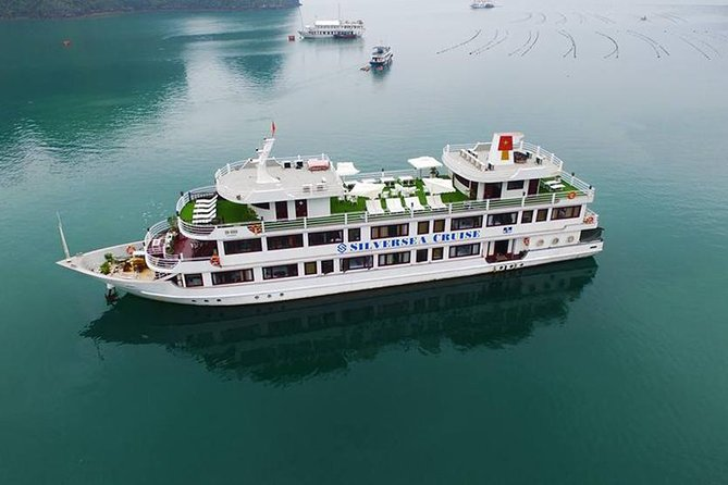 Silver Sea Cruise-4 Star Cruise in Ha Long Bay-Full Service(2 Days 1 Night Tour)