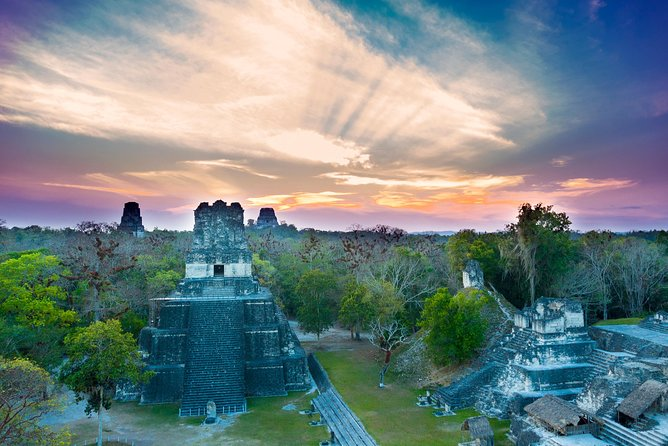 Tikal and Yaxha Overnight Trip by Air from Antigua