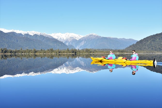 4-hour Lake Mapourika Kayak and Hike adventure, with Okarito Kiwi Sanctuary