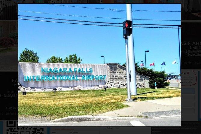 Airport Transfer: Niagara Falls, ON to Niagara International Airport (IAG)