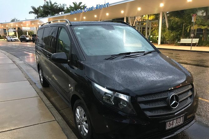 Private Transfer from Sunshine Coast Airport to Noosa for 1 to 7 people
