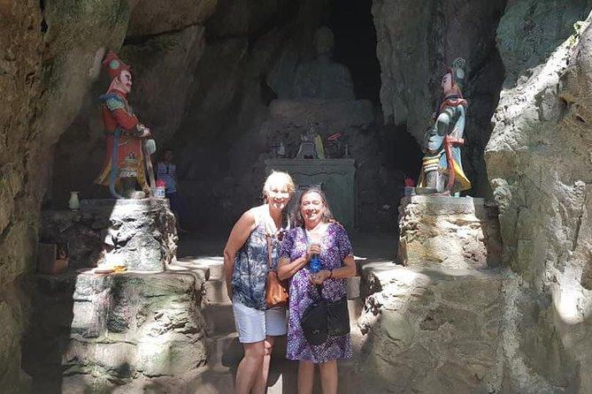 Monkey Mountain, Marble Moutain & Dragon Bridge ( Da Nang city Tour HalfDay )