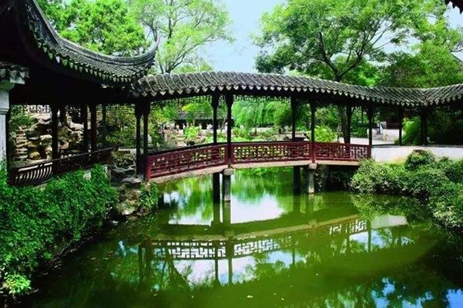 Shanghai-Suzhou private day tour with private transfer and Lunch