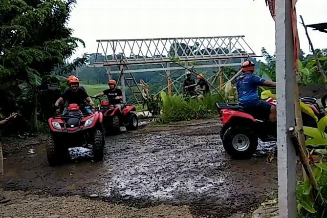 Go Quad bike and White Water Rafting.