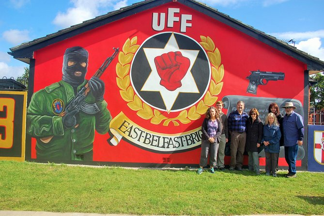 Political Mural Belfast Official Black Taxi Tour