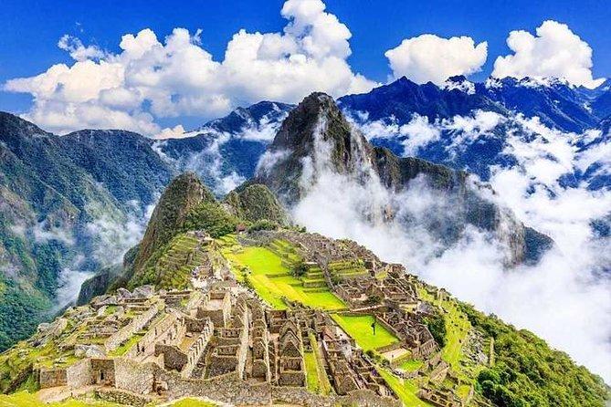 Machu Picchu official entrance ticket