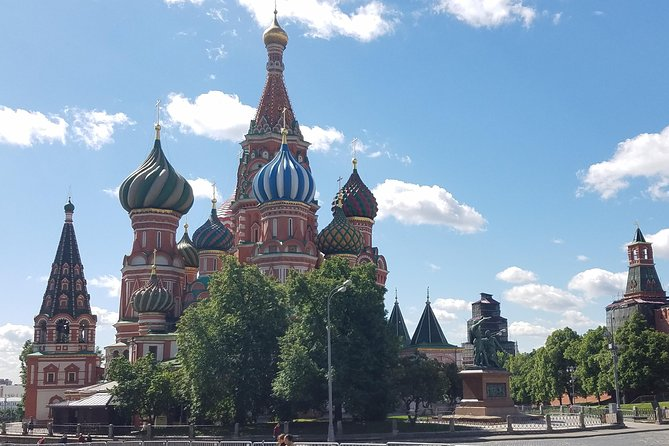 Private Tour: Full Day Moscow City Custom All Inclusive Tour with Hotel Pickup