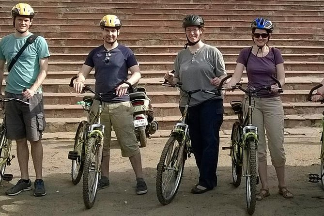 Agra Tour by Cycle + Food Tasting Tour - All Inclusive