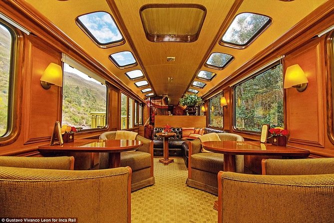 First Class Train To Machu Picchu + Bus To Entrance