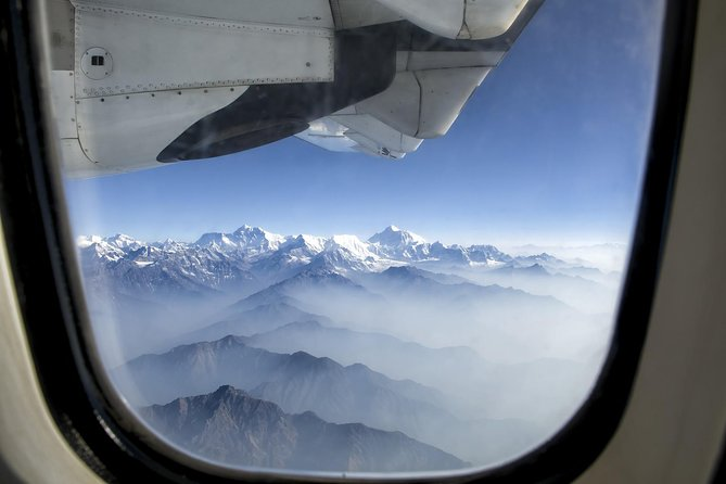 Everest scenic flight by plane from Kathmandu