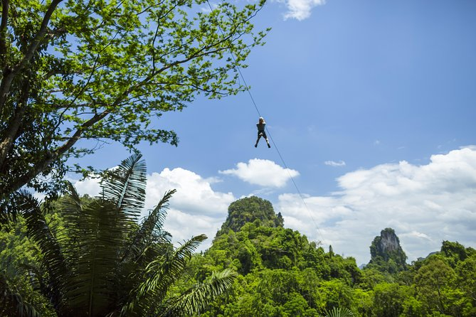 Krabi 2-Hour Zipline Adventure