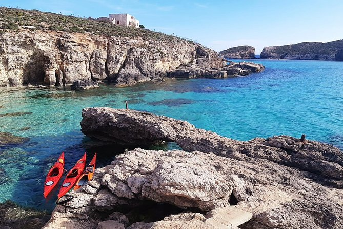 Kayak Gozo & Comino - Awesome Afternoon Adventure!
