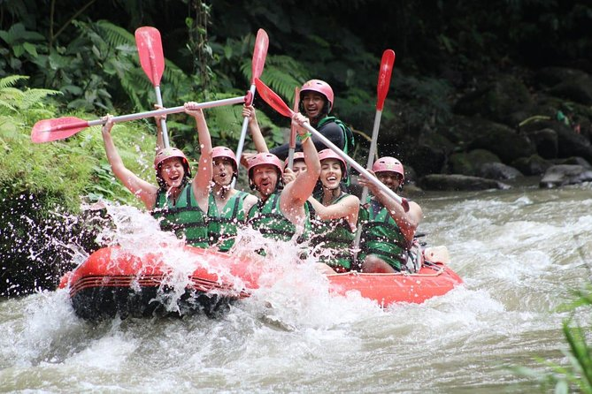 Bali Rafting Including Lunch and Transport