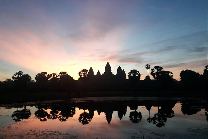 Sunrise at Angkor Wat Temple Shared Tour
