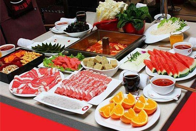 Shanghai Hot pot dinner foodie tour with guide and one way private transfer