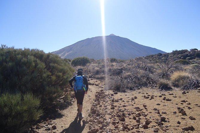 Walking on the moon around Teide