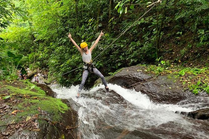 Rappelling down waterfalls with organic lunch and farm tour photo 14