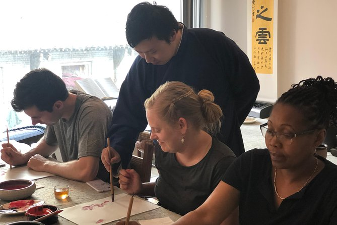 3-Hour Tradtional Ink and Brush Painting with Calligraphy Workshop in Beijing photo 8