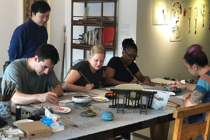 Beijing Cultural and Art Workshop: Calligraphy, Ink Painting and Brick Extension