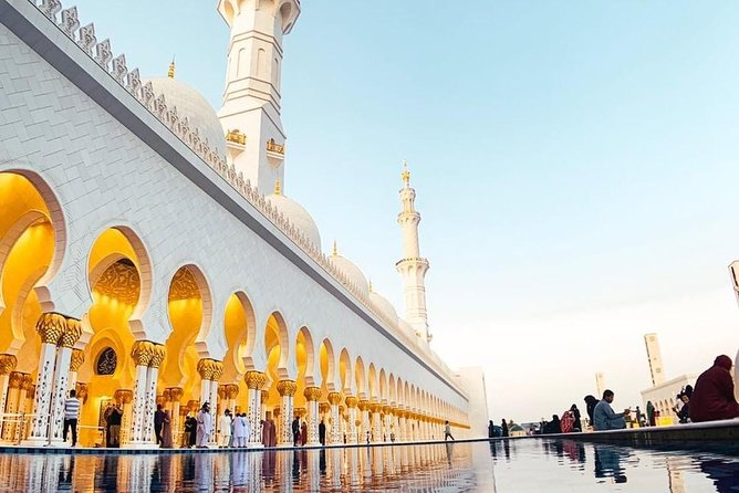 Round-Trip Abu Dhabi Full Day Cultural Tour from Dubai