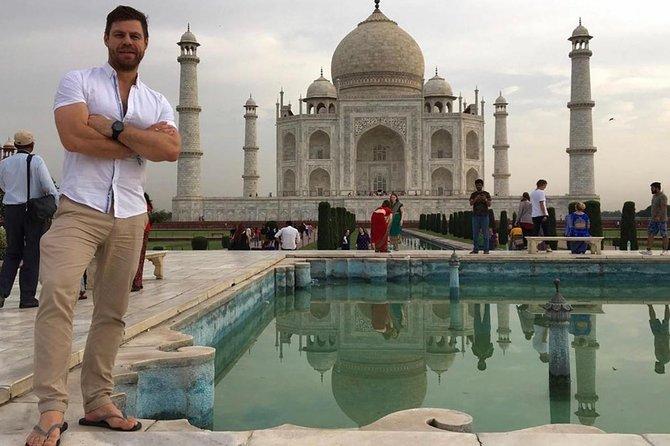 Private Sunrise Taj Mahal & Agra fort tour from Delhi,breakfast in 5 star hotel