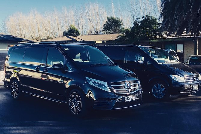 TRANZALPINE MERCEDES EXECUTIVE VAN - Christchurch Hotel to Rail 1 - 5 Passengers