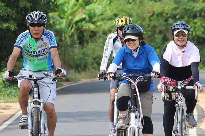 Country side cycling in Bentota