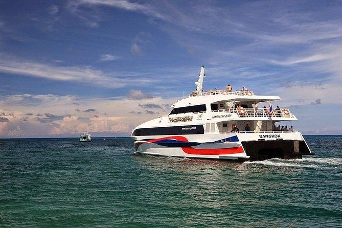 Bangkok a Koh Phangan pela Lomprayah Coach e catamarã de alta velocidade