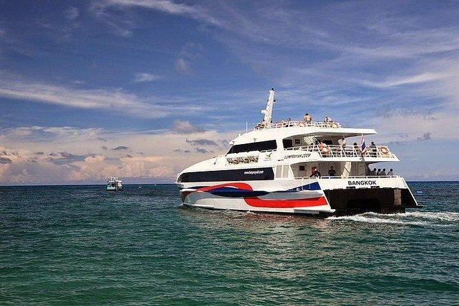 Bangkok to Koh Samui by Lomprayah Coach and High Speed Catamaran