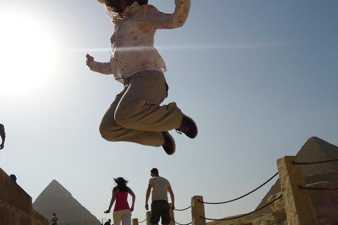 Giza Pyramids and Sphinx Private Half Day Trip