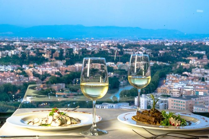 ROME: Italian dinner with panoramic view
