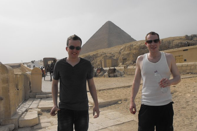 Giza Pyramids and Sphinx Half Day Tour