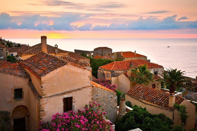 Monemvasia Castle from Nafplion