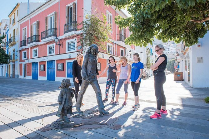 Highlights Running Tour of Ibiza Town