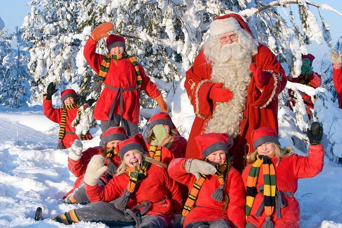 Private guided by VIP car Rovaniemi City tour and Santa Claus Village