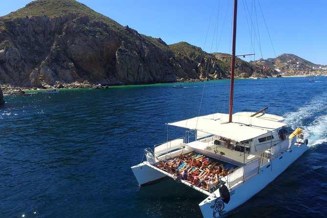 Private Catamaran La Tortuga Snorkeling and Sunset Cruise in Los Cabos