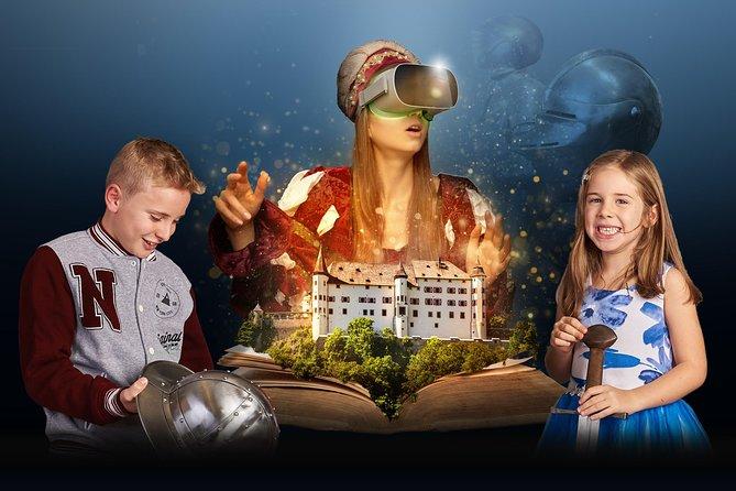 Schloss Tratzberg - radio play tour with virtual reality time travel