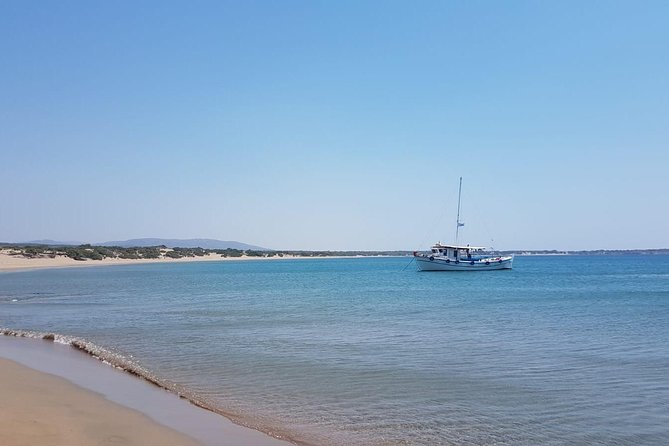 Private Half Day Tour from South Rhodes on a traditional boat