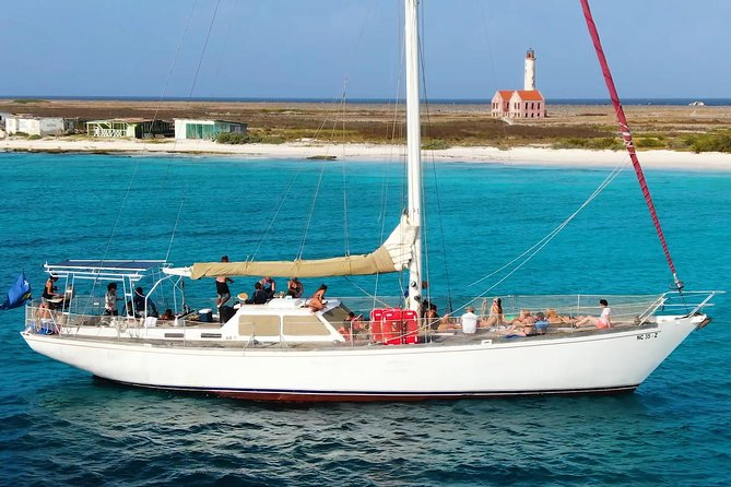 Klein Curacao,escape the crowds onboard Casador every saturday