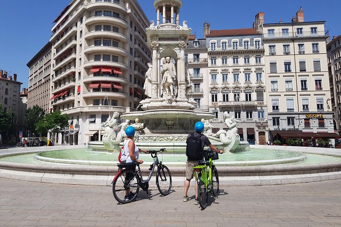 Adventure of Lyon New and Old by E-Bike