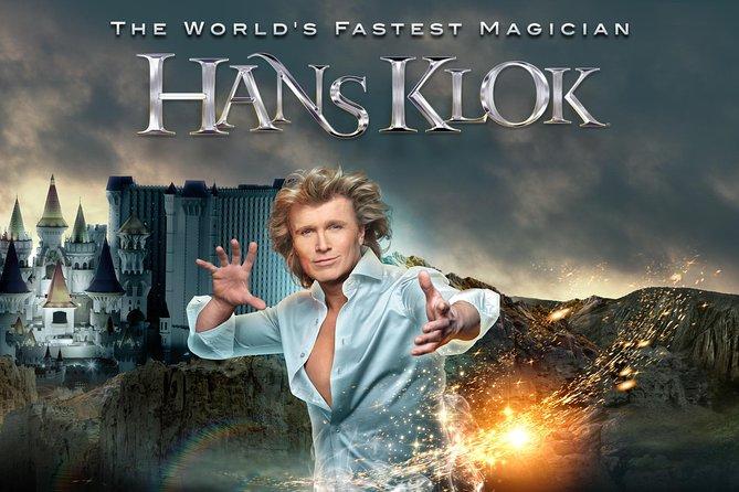 Hans Klok - The World's Fastest Magician at Excalibur Hotel in Las Vegas