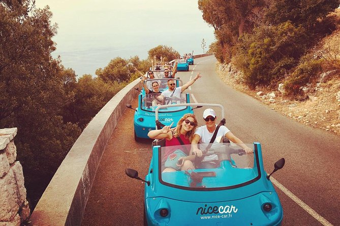 French Riviera Cities & Sightseeing Scoot Coupe Self-Drive Tour from Nice
