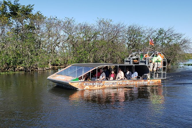 Florida Everglades Airboat Tour and Show from Fort Lauderdale