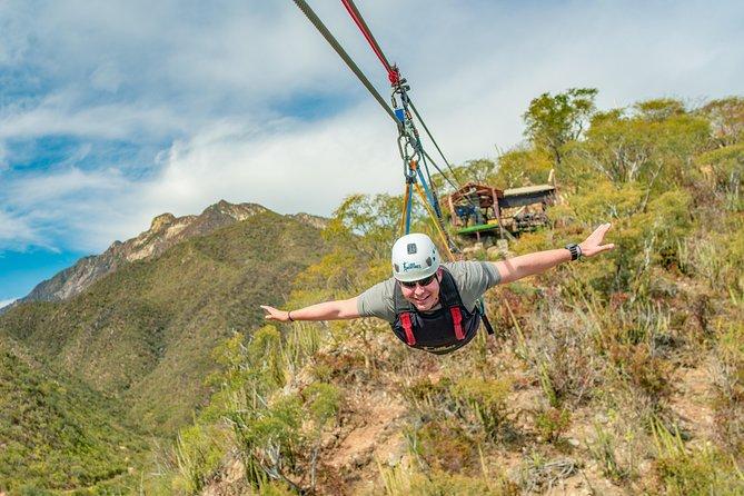 Outdoor Ziplining and UTV Adventure from Los Cabos