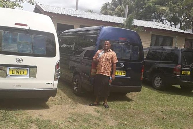 Airport Transfers with New Dawn Tours Fiji