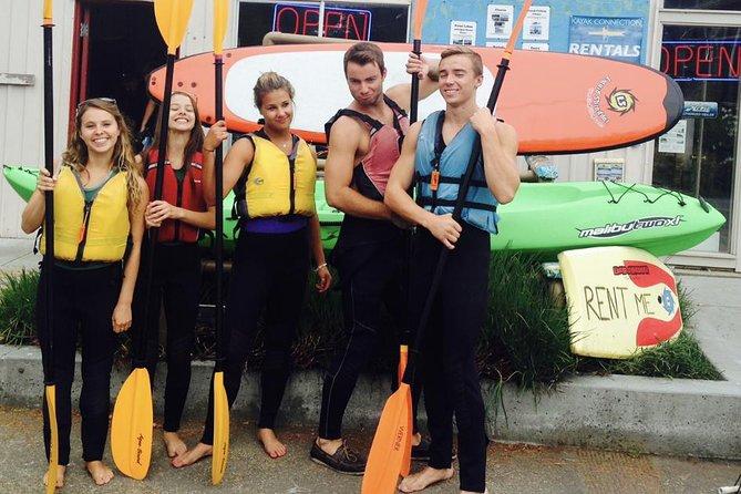 Santa Cruz Single Kayak Ocean Rental - 4 Hours (Valid only at 413 Lake Ave)